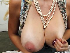 Charlee Chase with massive jugs gets shagged literally to death by Johnny Castle