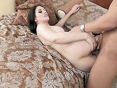 Sarah Shevon is full of passion to be anally fucked