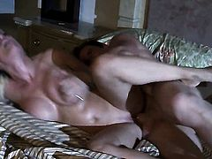 Diamond Foxxx cant live a day without getting her mouth fucked by hot dude