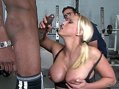 Nicki Hunter Loves Black Cock