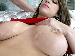 Karina White gets attacked by throbbing dick of horny man