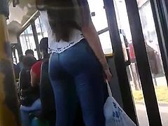 Bus buenisimo ass hard buttocks