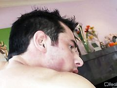 Joey Brass is horny and cant wait any longer to fuck Saucy tramp Chris Johnnson