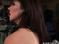 Brunette Mandy Bright fulfills her sexual needs and desires with Maria Bellucci in girl-on-girl action