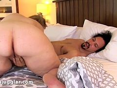 Big Curvy Lila Lovely fucks the janitor