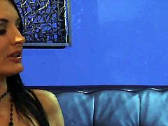 Lovely babe has her ass fingered in this video. She is with her boss, staying in the office after hours. Since it is late they decide to stay over and have sex in office.