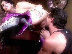 Dylan Ryder sucks like it aint no thing in oral action with hot blooded guy