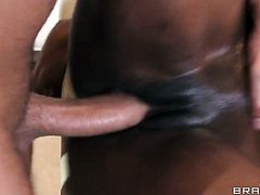 Keiran Lee loves always wet warm fuck hole of African Jasmine Webb