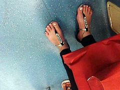 FOOT ON THE SUBWAY