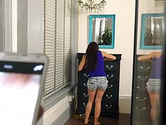 SisLovesMe - Step-sister Thought She could fuck her way out