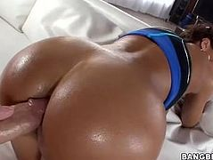 Gorgeous milf lisa ann gets a anal hot sex