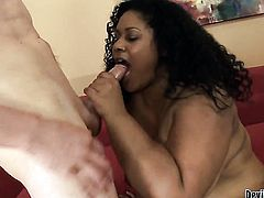 Delilah Black enjoys the warmth of mans throbbing love torpedo deep in her wet hole in steamy interracial action