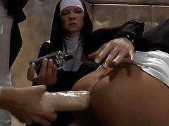 A life in the convent is really boring. There are so many rules and restrictions. So the nuns pass the free time they have by having group sex with each other.
