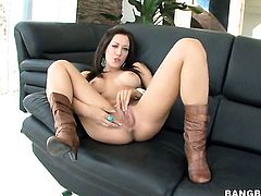 Capri Cavalli fucking like a first rate whore in steamy action with hot dude