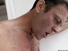 Rocco Siffredi fucks beautiful Alishas deadeye in every sex positon after she gets her mouth drilled