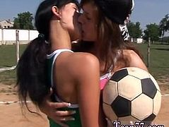 Amateur teen solo dildo Sporty teenagers eating each other