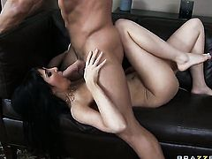 Diana Prince with giant breasts gets her back swing trained by erect meat pole of Johnny Castle