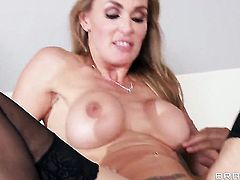 Keiran Lee has unforgettable oral sex with Gorgeous seductress Julia Ann  Tanya Tate with gigantic hooters