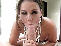 Mick Blue uses his throbbing boner to bring Allie Haze to the height of pleasure