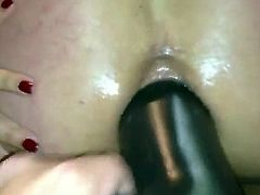 not daddy & His Cum Whore Here is another anal fun