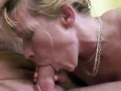 Big natural tits housewife Darina fucking her son in law