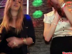 Euro amateur dancing and sucking