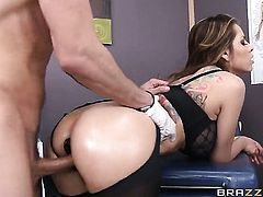 Mick Blue buries his throbbing boner in completely cute Yurizan Beltrans ass way