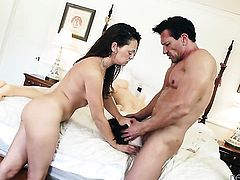 Marco Banderas has a nice time fucking breathtakingly beautiful Olivia Wilders mouth