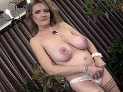 Radka or Raina W.  busty mature MILF solo