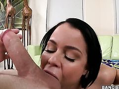 Blow job with a hot girl