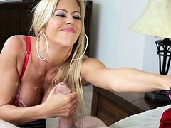 mature stepmommy caught him playing with her panties