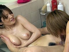 Japanese Soap Threesome Service