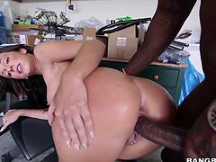 Skater girl Jada Stevens takes monster cock