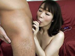 Hitomi Oki is totally addicted to cum