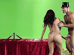 Johnny Sins fucks a hot woman