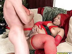 Jordan Ash has fantastic oral sex with Luscious Louis