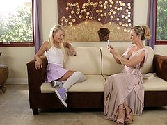 Carmen Callaway and Brandi Love at Mommy's Girl