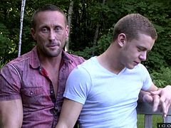 Ian and Myles have been together for a while, and they are very much in love. They enjoy talking about their relationship and love life to other as well, which they are doing now. They sit outside and then, adjourn to the bedroom inside the house.