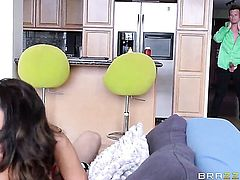 Hot DP with French MILF Ava Addams