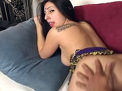 There is something unbelievably sexy about Indian women. Maybe it's that exotic attraction. Maybe the pussy is just better. Either way, I love them and am always excited to fuck an Indian, just like this one. I dropped my load right in her snatch.