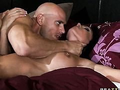 Johnny Sins pulls out his snake to fuck fuck hungry Jessica Jaymess twat