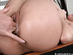 Blonde Kathia Nobili and Blue Angel finger each others wet hole like theres no tomorrow in girl-on-girl action