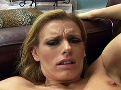 Age means experience, and Darryl has plenty of both. She's over 40, but her body is still rockin' and her head game will make any guy fight hard not to cum, especially when she deep throats it. Watch her suck and get fucked now!