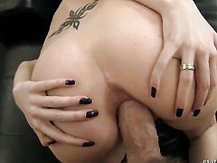 Alexandra fucks a lot with hard cocked bang buddy Rocco Siffredi before she gets anal orgasm after d