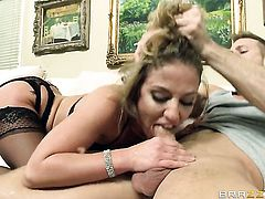 Sheena Shaw gets drilled to orgasm by Bill Bailey in steamy anal action