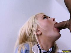 Voodoo cant resist irresistibly sexy Alexis Fords attraction and fucks her mouth like theres no tomorrow
