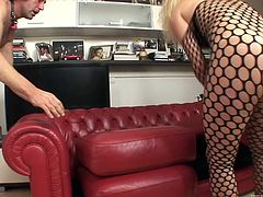 This guy picks up Bianca for a good time, but apparently, he wanted her to do all the work. The customer just bends over and takes her cock in his ass. After that, he gets on his knees and sucks her stiffy.