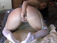 Pornstar Virgo Peridot shows once again how addicted she is to anal excercise. The stretching of her sphincter gives her the pleasure and orgasm she could never achieve with vaginal sex.