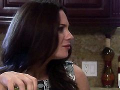 Kirsten Price is a facial cum slut