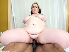 Fat Fucking Cock Whore Used By 2 Black Dicks
